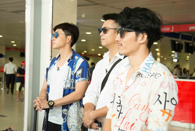 Từ trái sang: Jun Phạm, Trương Thế Vinh và Liên Bỉnh Phát.