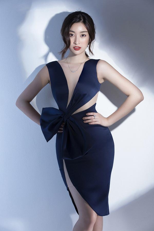 Đỗ Mỹ Linh gợi ý mặc đẹp cùng mốt váy cut-out - 7