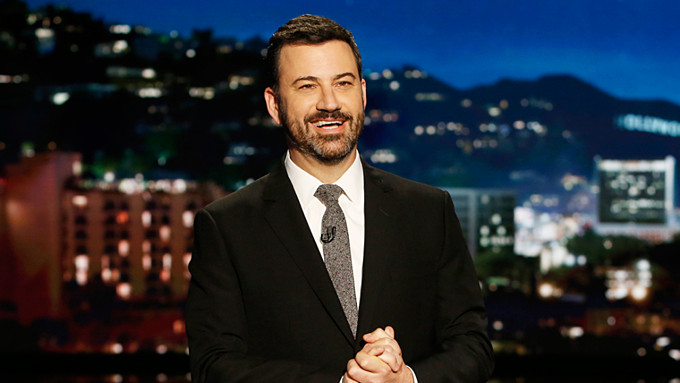 Người dẫn chương trình Jimmy Kimmel của kênh ABC. Ảnh:ABC.