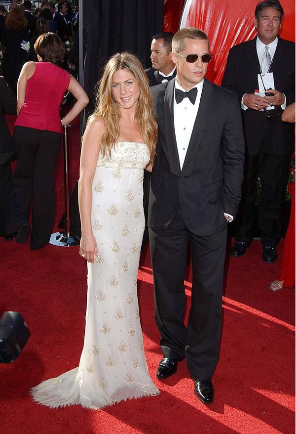 Brad và Jen năm 2004 - thời vẫn còn chung sống.