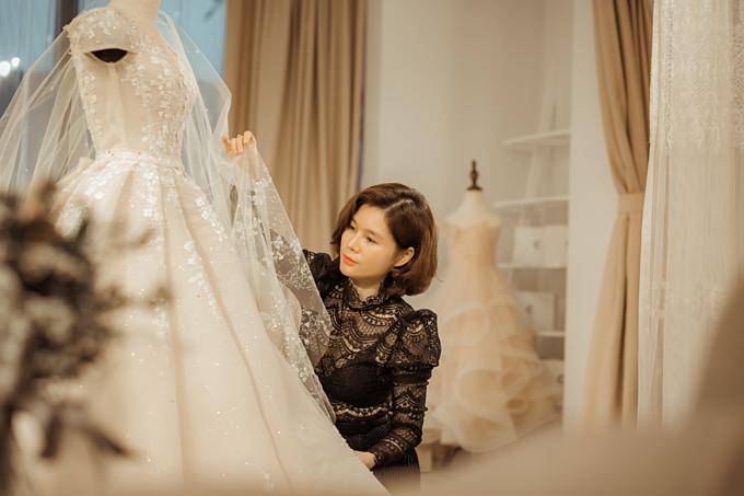 NTK Phuong Linh trinh lang vay cuoi Haute Couture sau 19 nam