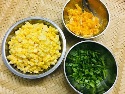Ngô xào trứng muối - 1