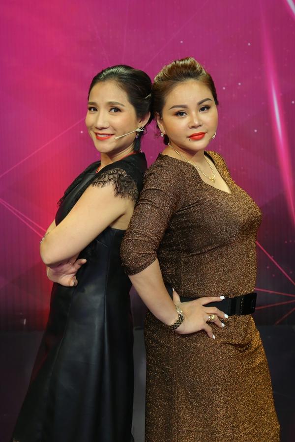 Trên sóng truyền hình, hai nữ nghệ sĩ không ngại chặt chém nhau.
