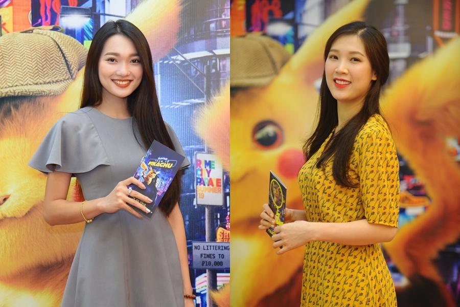 Ngọc Nữ, Phí Thùy Linh mặc kín bưng đi xem phim 'Pókemon'