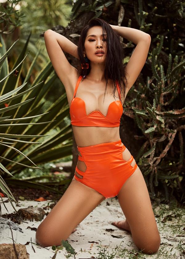 Bom sex Quỳnh Thy khoe body bốc lửa khi diện áo tắm - 6