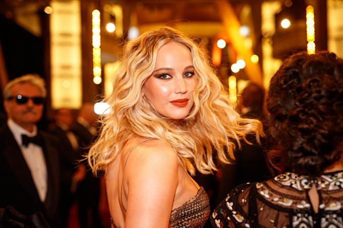Diễn viên đắt giá nhất năm 2017 - Jennifer Lawrence. Ảnh:AFP.