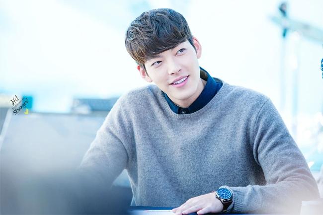 Nam diễn viên Kim Woo Bin.