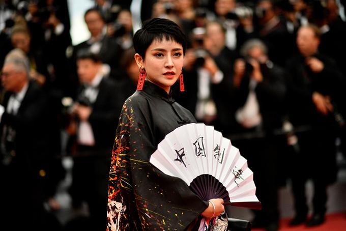 Lưu Đào, Côn Lăng đọ sắc trên thảm đỏ Cannes - 8