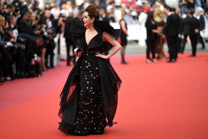 Lưu Đào, Côn Lăng đọ sắc trên thảm đỏ Cannes - 9