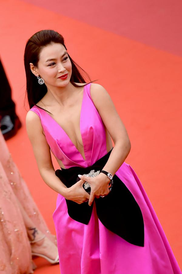 Lưu Đào, Côn Lăng đọ sắc trên thảm đỏ Cannes - 10