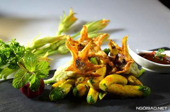 Đủ món ăn từ các loại hoa - 5