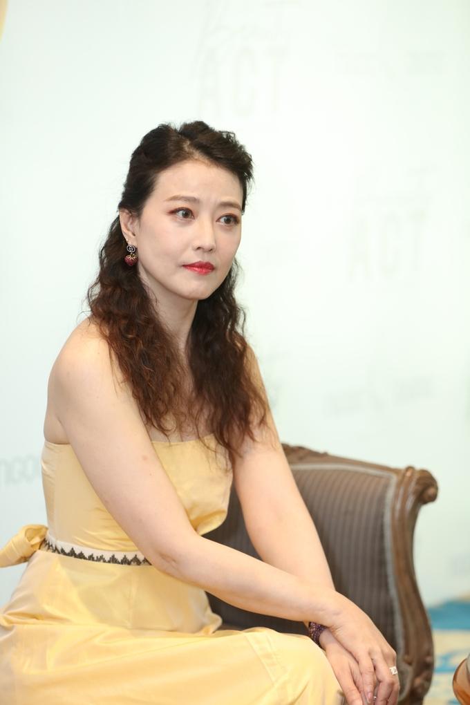 Châu Hải My tươi trẻ dự sự kiện ở Sài Gòn