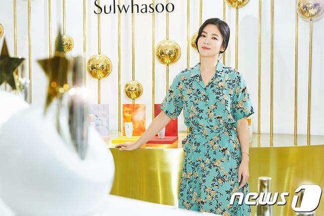 Song Hye Kyo ngấp nghé 40 vẫn trẻ đẹp - 1