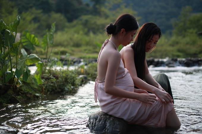 Maya và Trà My có nhiều cảnh diễn chung trong phim.