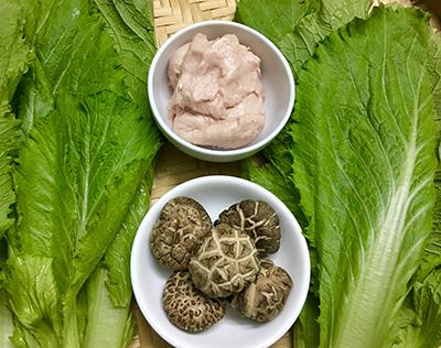 Canh cải bẹ xanh nấu mọc - 1