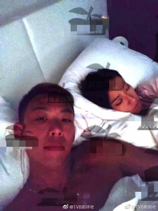 Ảnh nóng của Diêu Tử Linh và Raymond bị phát tán lên mạng.