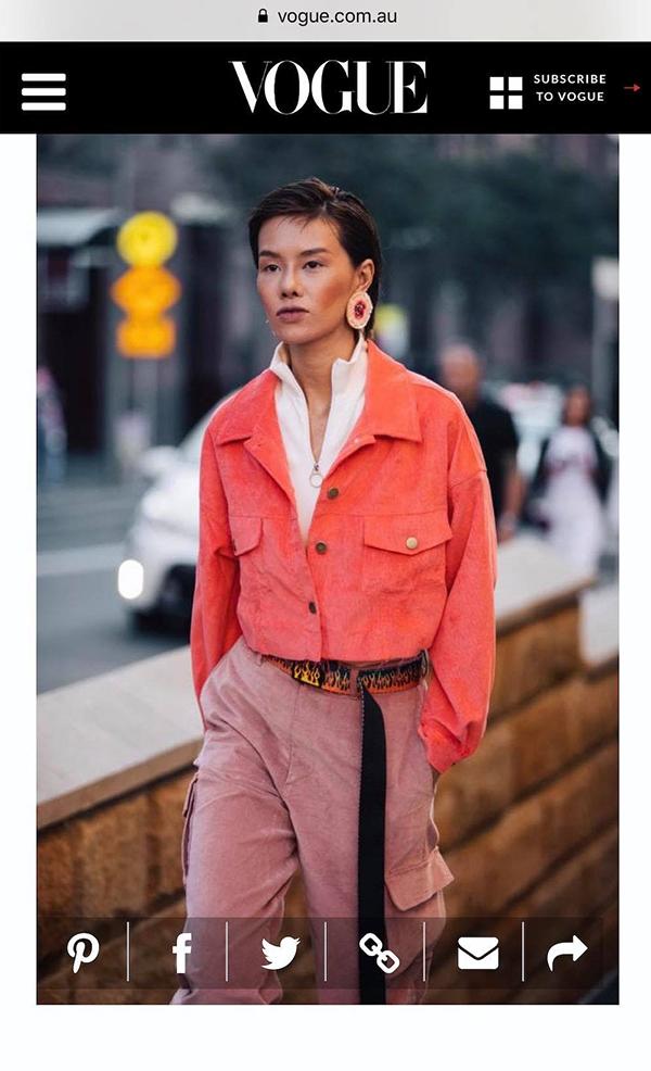 Ngay buổi đầu xuất hiện tại tuần lễ thời trang nổi tiếng, Hà Kino đã lọt vào ống kính của báo Vogue của Pháp, Mỹ, Nga, Anh, Australia, Hong Kong.