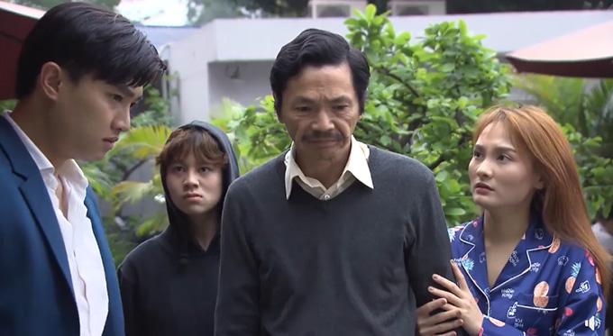 4 diễn viên trong phân đoạn ẩu đả ở tập 27 Về nhà đi con.