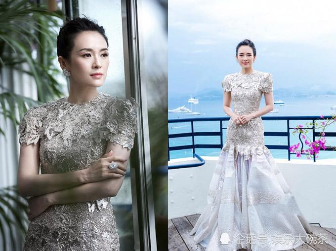 Hoa đán Trung Quốc thực hiện một bộ ảnh tại thành phố biển xinh đẹp Cannes.