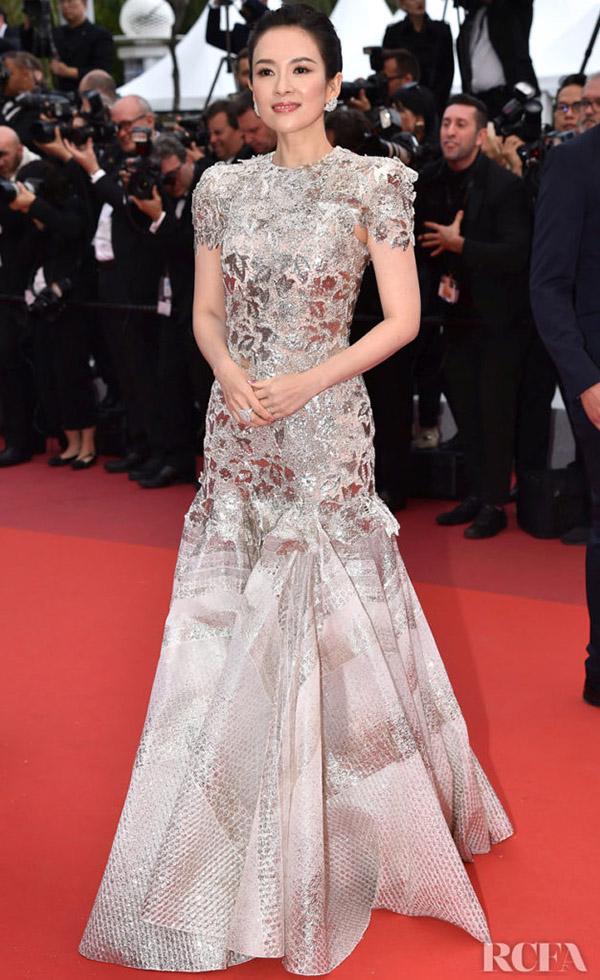 Chương Tử Di được chào đón ở Cannes