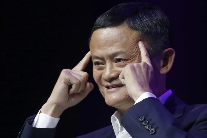 Jack Ma tại hội nghịViva Tech tạiParis, Pháp hôm 17/5. Ảnh: CNBC.