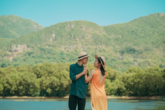 Ngày 5/5, uyên ương đã bí mật kết hôn ở Côn Đảo. Cả hai dự kiến tổ chức thêm một đám cưới thân mật với sự góp mặt của gia đình, người thân và bạn bè ở Hà Nội vào cuối tháng 7.