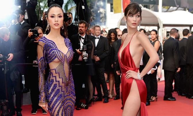 Xiêm y hở bạo 'càn quét' thảm đỏ Cannes