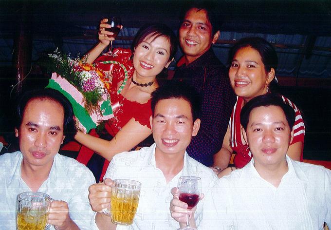 Năm 2007 Thanh Thúy và Đức Thịnh chung tay mở công ty sản xuất phim. Họ vui vẻ nâng ly uống mừng cùng các nhân viên trong này khai trương Thiên Phúc Entertainment.