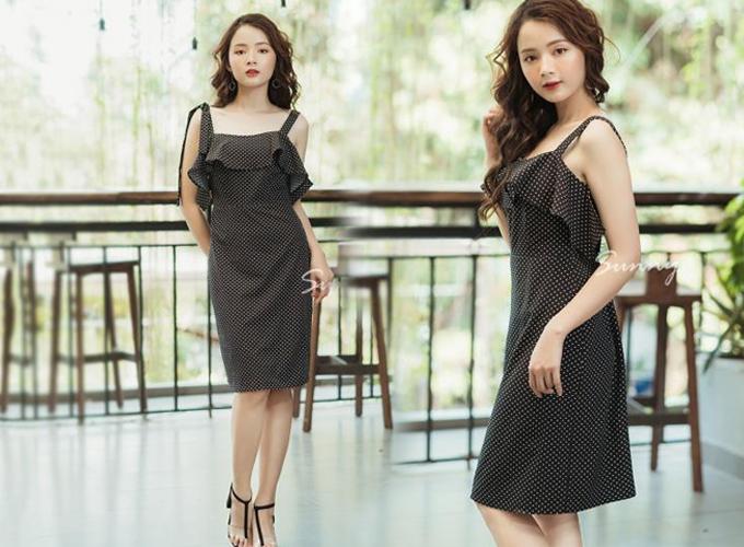 Cách diện trang phục màu đen vẫn mát mẻ trong mùa hè - 3