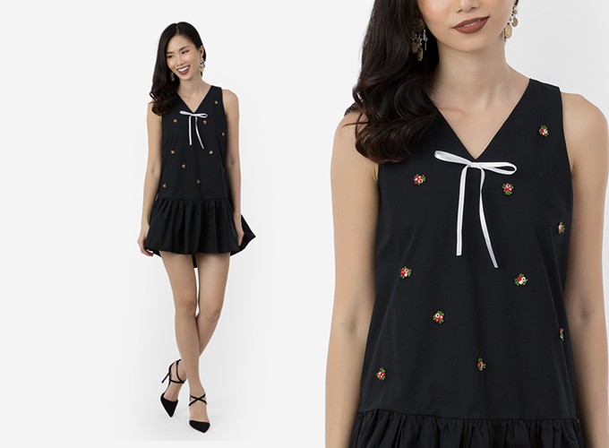 Cách diện trang phục màu đen vẫn mát mẻ trong mùa hè - 8
