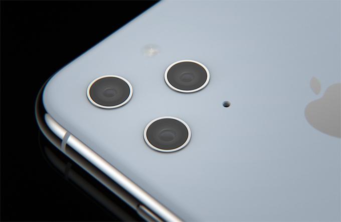 iPhone 11 với ba camera không lồi - 1