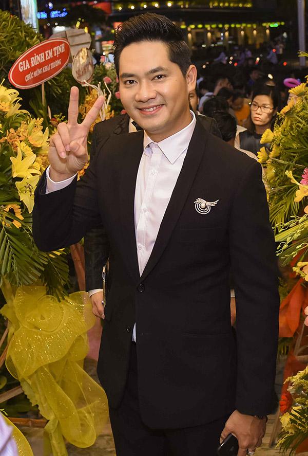 Diễn viên Minh Luân cũng từ Sài Gòn ra Đà Nẵng dự event này.