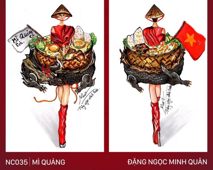 Trang phục Bàn thờ cho Hoàng Thùy thi Miss Universe gây tranh cãi - 2