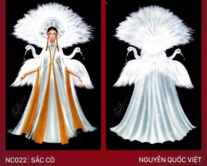 Trang phục Bàn thờ cho Hoàng Thùy thi Miss Universe gây tranh cãi - 3