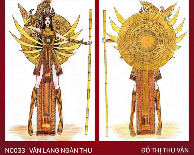 Trang phục Bàn thờ cho Hoàng Thùy thi Miss Universe gây tranh cãi - 8