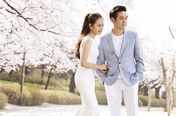 Dương Khắc Linh hơn Sara Lưu 13 tuổi nhưng nhạc sĩ còn rất trẻ trung, phong độ, nhìn đẹp đôi bên vợ 9X.
