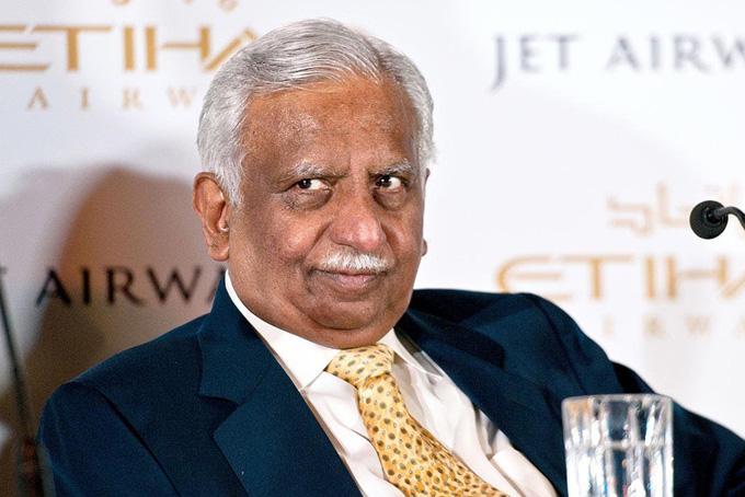 Ông Naresh Goyal, cựu CEO của Jet Airways. Ảnh: India Times.