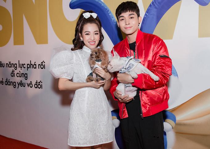 Puka và Jun Phạm đều là fan của các nhân vậtđáng yêu trong Đẳng cấp thú cưng.