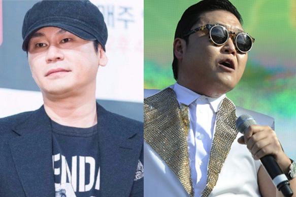 Chân dung ông trùm giải trí Yang Huyn Suk và ca sĩ PSY.
