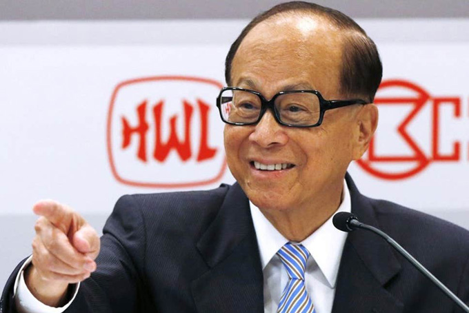 Lý Gia Thành, tỷ phú giàu nhất Hong Kong. Ảnh: The Independent.