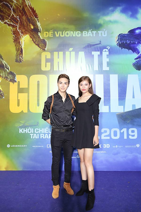 Vợ chồng Jay Quân - Chúng Huyền Thanh mặc ton sur ton.