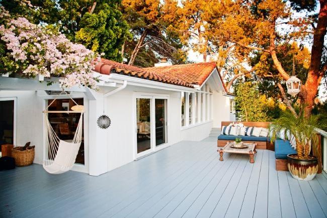 Biệt thự của Miranda ở Malibu, California.