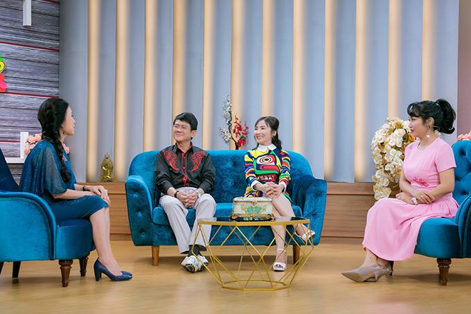 Từ trái qua: nghệ sĩ Kim Xuân, vợ chồng Bảo Trí - Kim Tuyết, Ốc Thanh Vân.
