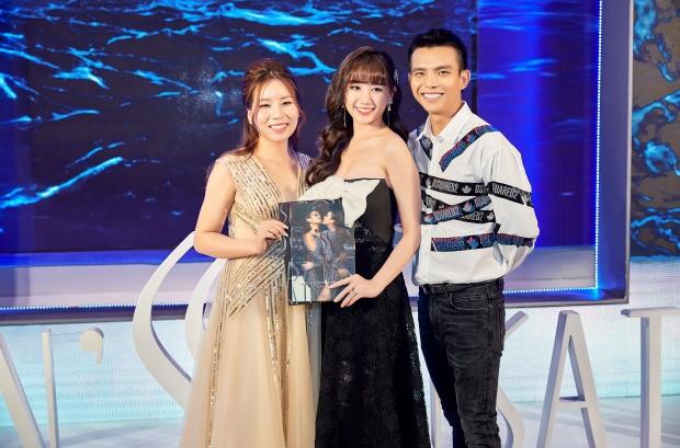 CEO Hải Yến, nghệ sĩ Hari Won cùng NTK Đỗ Long tại sự kiện. Người đẹp cho hay, sẽ tiếp tục đồng hành với NTK trong những dự án tiếp theo.
