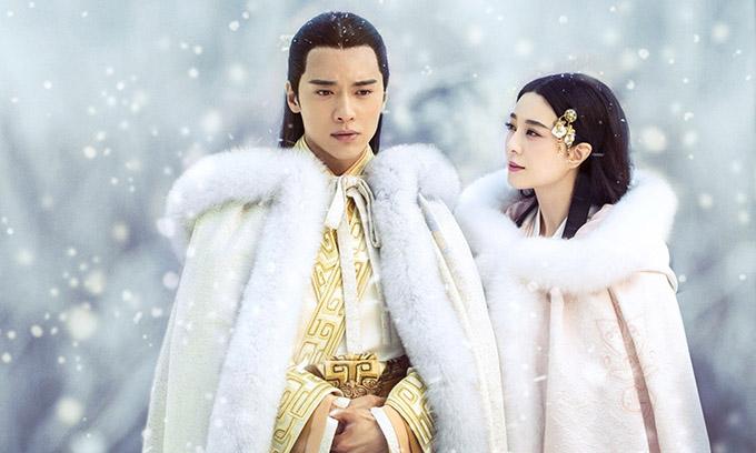 Cao Vân Tường và Phạm Băng Băng đóng cặp trong phim Ba Thanh truyện.