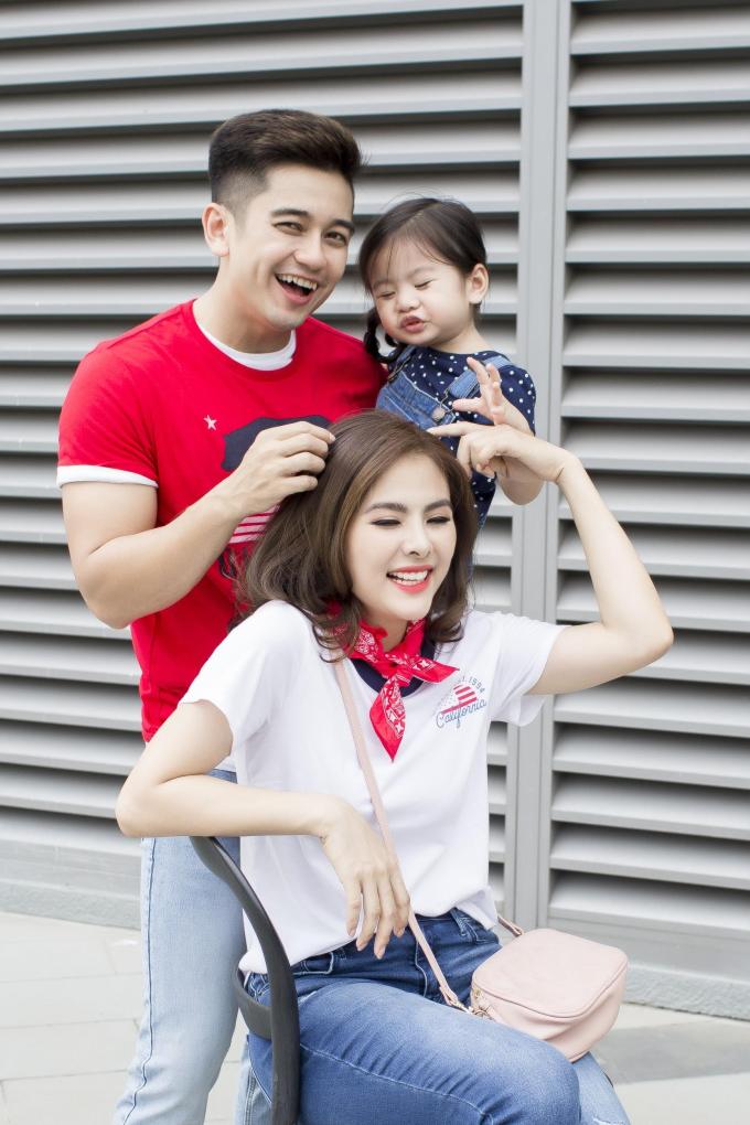 Gia đình Vân Trang diện trang phục Old Navy dạo chơi cuối tuần - 8