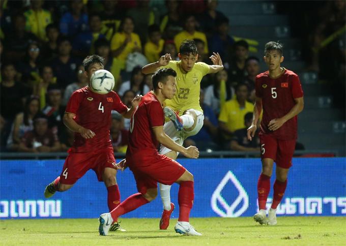 Các cầu thủ Thái Lan có vẻ bị ức chế