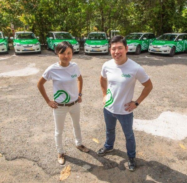 Hai đồng sáng lập Grab Tan Hooi Ling và Anthony Tan. Ảnh: glassdoor.