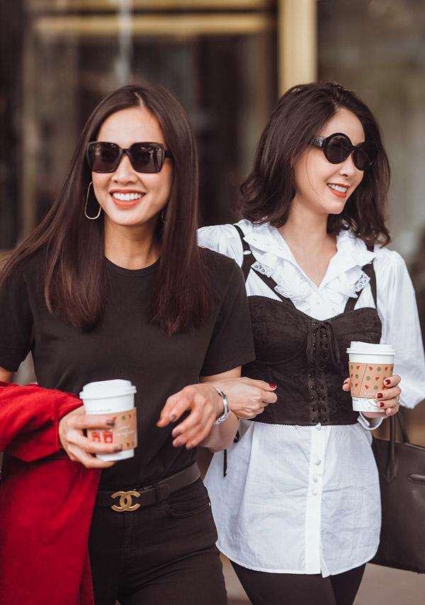 Dương Mỹ Linh năm nay 35 tuổi còn Hà Kiều Anh mới kỷ niệm sinh nhật lần thứ 43.