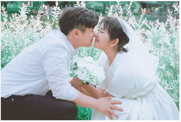 Con gái Choi Jin Sil và người đàn ông cô đang yêu.